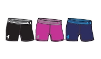 Under Armour Girls HeatGear 5'' Solid Shorts